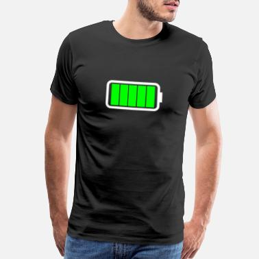 Battery Full Battery - Men's Premium T-Shirt