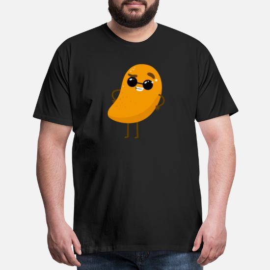 Funny Mango Tropical Sweet Fruit Potato Humor Men's