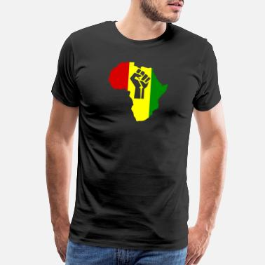 Rasta Africa Power Rasta Reggae music - Men's Premium T-Shirt