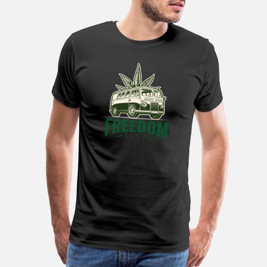 Freedom Club marijuana weed inspired shirt