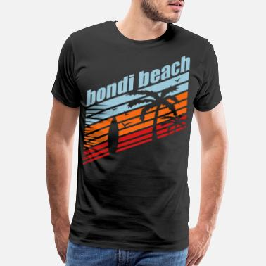 Surfing BONDI BEACH SUMMER FEELINGS - Men's Premium T-Shirt