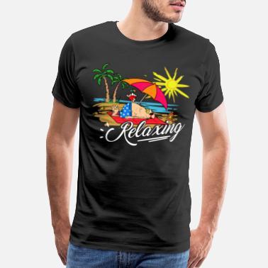 f517aeaea1579 Summer Design Relaxing Summer   Sommer   Sonne - Men s Premium T-Shirt