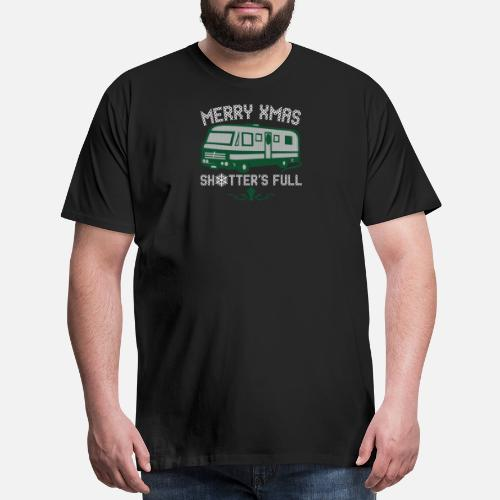 Merry Xmas Shitters Full Christmas Sweater Ugly Mens Premium T
