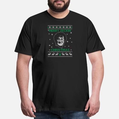 Ugly Christmas Sweater For Larry David Fans Mens Premium T Shirt