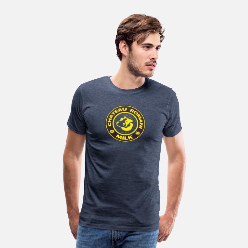259fda8be4 Legend of Zelda Majora s Mask Chateau Romani Milk Men s Premium T-Shirt