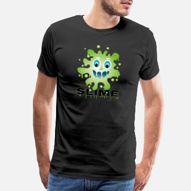 Mobbing Slime-monster - Men's Premium T-Shirt