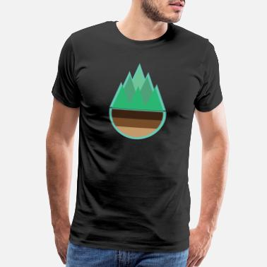 Earth Tree Forest | Nature Tree Earth Trees - Men's Premium T-Shirt