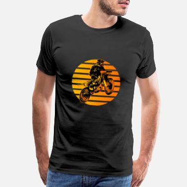 Dirt jump motorcross - Men's Premium T-Shirt