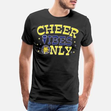 Pyramid Cheerleader Dance Gift Cheerleading Football - Men's Premium T-Shirt