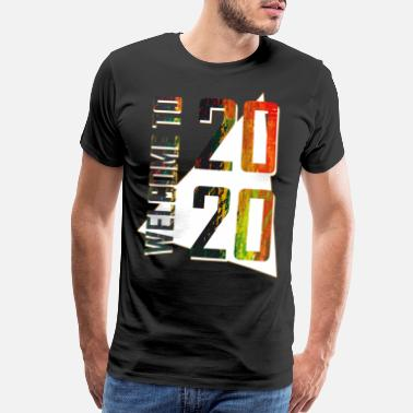 Turn On New party New Year's 2020 Year Eve New Year gift - Men's Premium T-Shirt