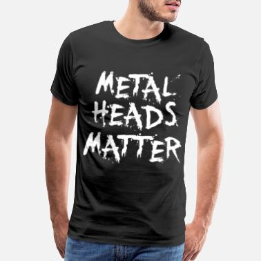 Fresh Music METAL HEADS - Men's Premium T-Shirt