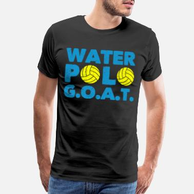 Swimming Coach Water Polo Player Sports Swimming Pool Gift - Men's Premium T-Shirt