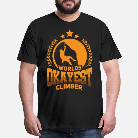 Fingerprint Climber T-SHIRT climbing climber rock funny birthday gift present