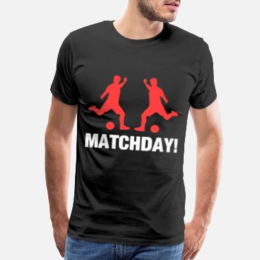 Football Club Soccer Matchday - Men's Premium T-Shirt