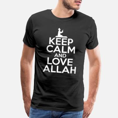 Prophets Islam Relax And Love Allah Cool Gift - Men's Premium T-Shirt