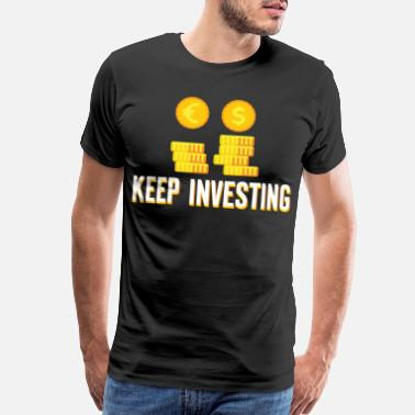 Capitalism Investing Money Investment Trader Cool Gift - Men's Premium T-Shirt