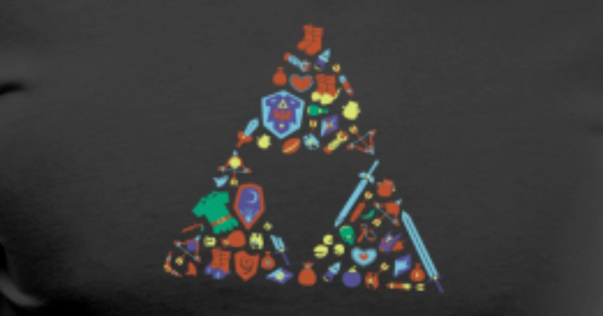 Zelda Item Triforce by Ramon Store   Spreadshirt