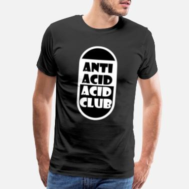 Minimal House anti acid acid club pill - Men's Premium T-Shirt