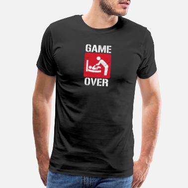 Procreation Game Over - Men's Premium T-Shirt