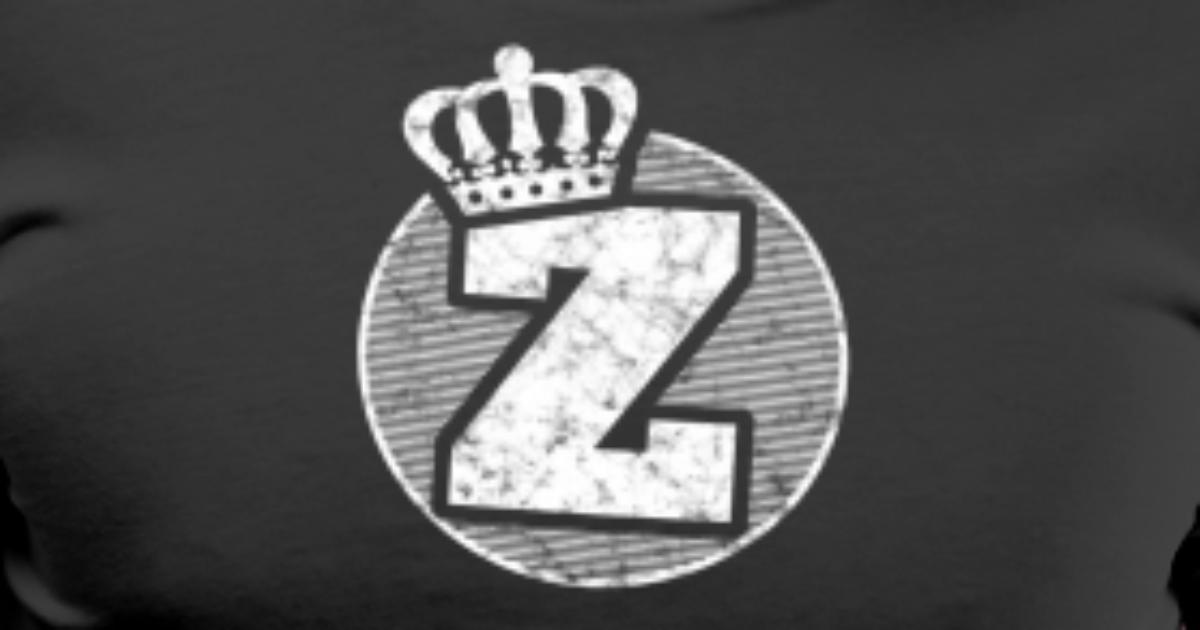 Name Letter Z Character Case Alphabetical Crown Men's ...