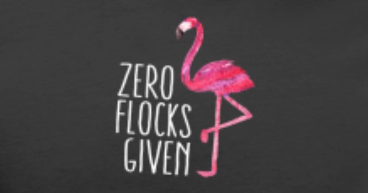Funny Cute Flamingo Saying Quote Tropic Animal Mens Premium T Shirt