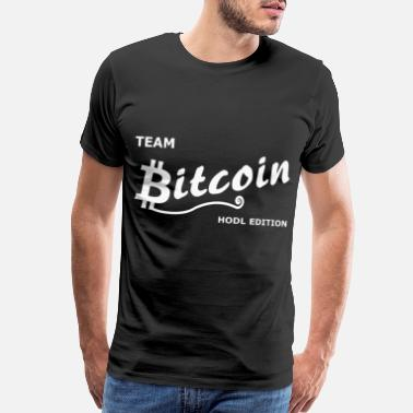 Walle Team Bitcoin - Men's Premium T-Shirt