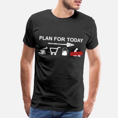 cec87bee Addicted Shopping plan - Shopping, Shoppen - Men's Premium T-Shirt