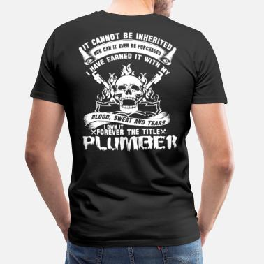 Furniture plumber furniture plumber plumber plumber crack - Men's Premium T-Shirt