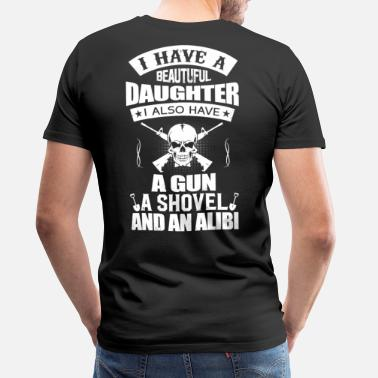 Dad Guns Gun - Men's Premium T-Shirt