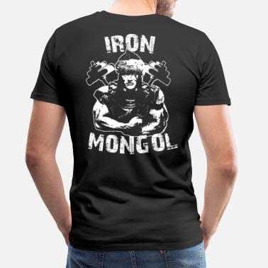 Mongols Iron Mongol Warrior - Men's Premium T-Shirt