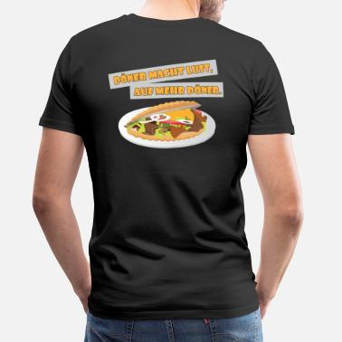 Fruit Friends Döner makes you want more döner. - Men's Premium T-Shirt