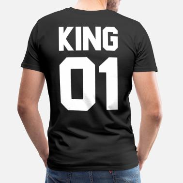 King Queen King 01 - Men's Premium T-Shirt