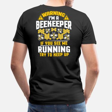 Honey Bee Beekeeper Beekeeping Apiarist Honey Bees Farmer - Men's Premium T-Shirt