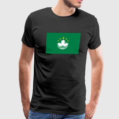 National Flag Of Macau - Men's Premium T-Shirt
