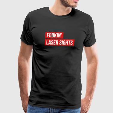 Fookin' Laser Sights - Rainbow Six Siege Thatcher - Men's Premium T-Shirt