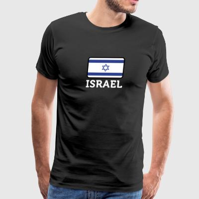 National Flag Of Israel - Men's Premium T-Shirt
