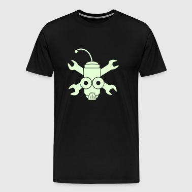 Robo Pirate - Vector - Men's Premium T-Shirt