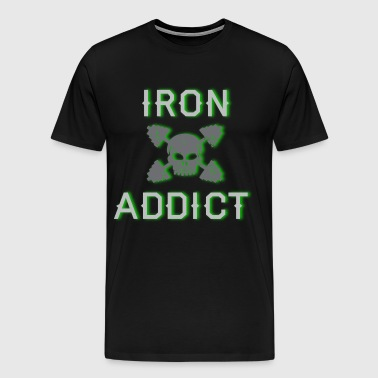 iron addict 2 - Men's Premium T-Shirt