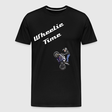 wheelie-sticker - Men's Premium T-Shirt