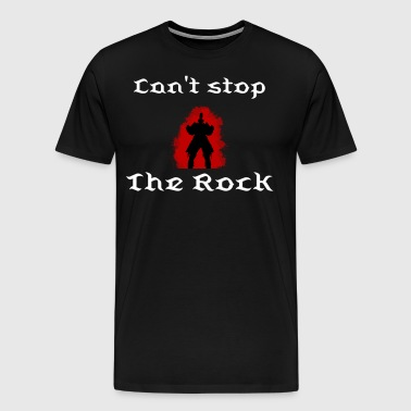 Dark Souls The Rock - Men's Premium T-Shirt
