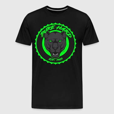 phd logo black and green - Men's Premium T-Shirt