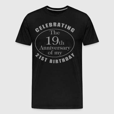 40th Birthday Gag Gift - Men's Premium T-Shirt