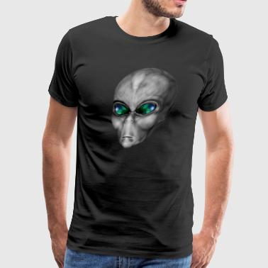 Gray Alien - Men's Premium T-Shirt
