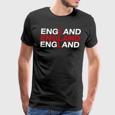 England United Kingdom Flag Shirt - England - Men's Premium T-Shirt
