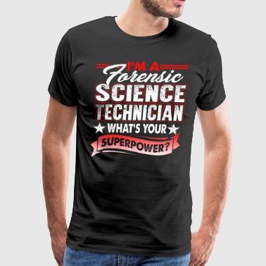 Forensic Science Technician T Shirt - Men's Premium T-Shirt