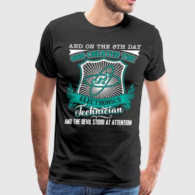 Electronics Technician Shirt - Men's Premium T-Shirt