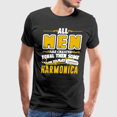 Play Harmonica Shirt - Men's Premium T-Shirt