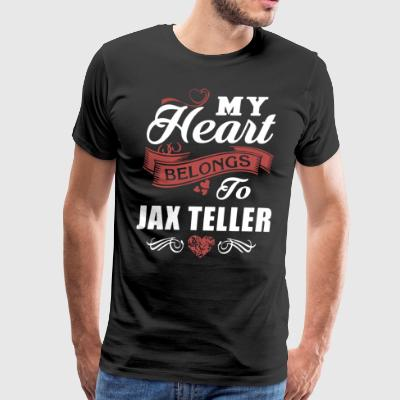 My heart belongs to jax teller - Men's Premium T-Shirt