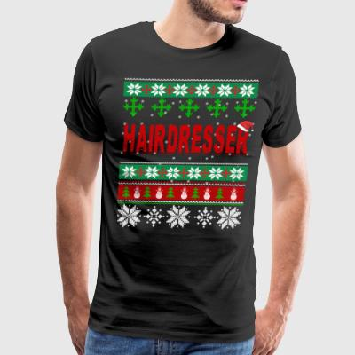Just Spend Christmas Day With Hairdresser - Men's Premium T-Shirt