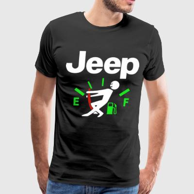 JEEP MAN GAUGE - Men's Premium T-Shirt